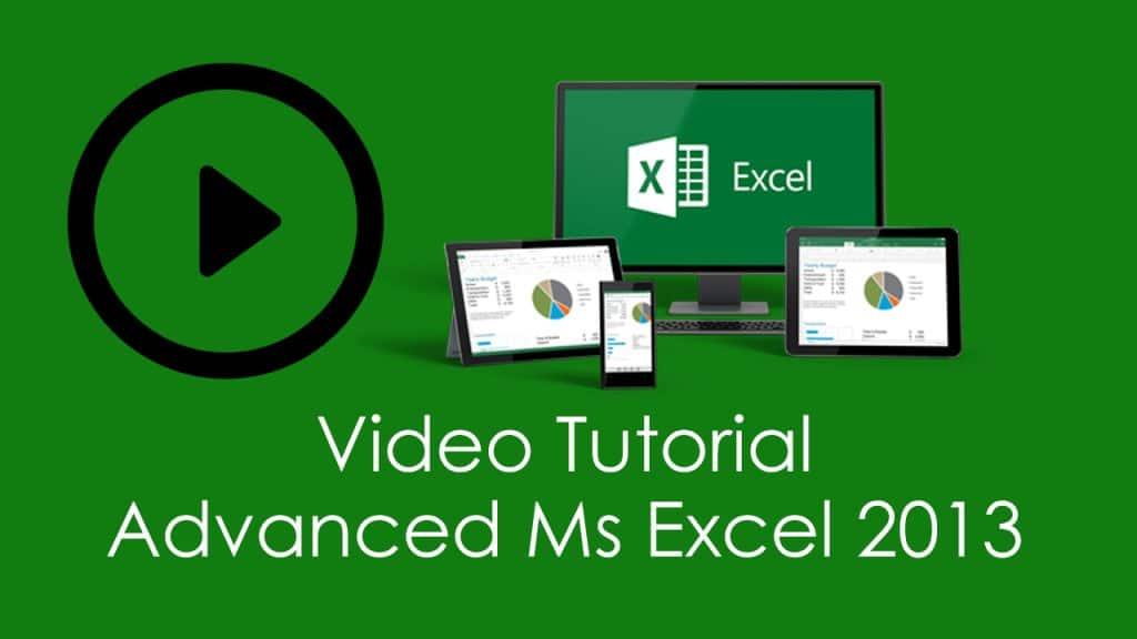 Ms Excel 2013 - RSL Tutor