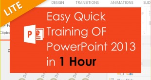 Microsoft-PowerPoint-2013 training by RSL Tutor
