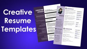 How to Create Creative Resume Design in Ms Word Tips