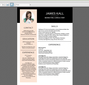How to Create Creative Resume Design in Ms Word Tips WEB